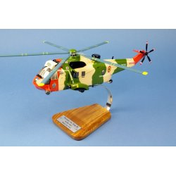 (Livraison fin Nov.2018)-Maquette hélicoptère Westland Sea King MK.48 Composante Air RS01 en bois
