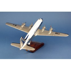 Maquette avion Douglas DC-4 Air France F-BBDJ 1er Paris-NY en bois