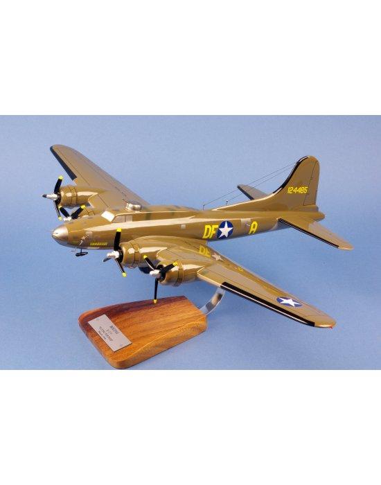 Maquette avion Boeing Flying Fortress B17 Memphis Belle en bois