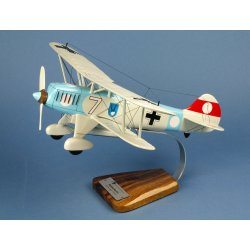 Maquette avion Heinkel He.51B III./JG233 en bois