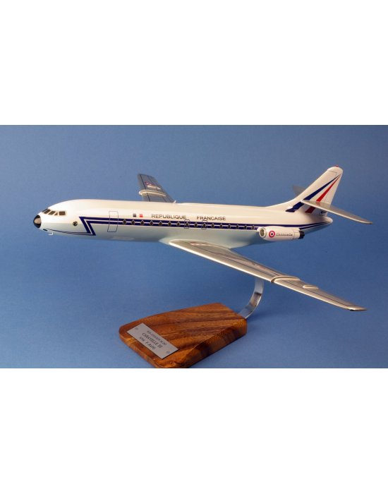 Maquette avion Caravelle SE-210 III F-RAFG en bois