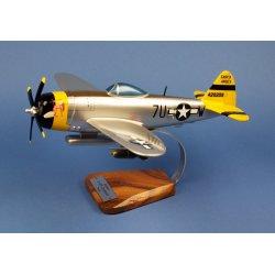 Maquette bois Avion P-47D Thunderbolt en bois