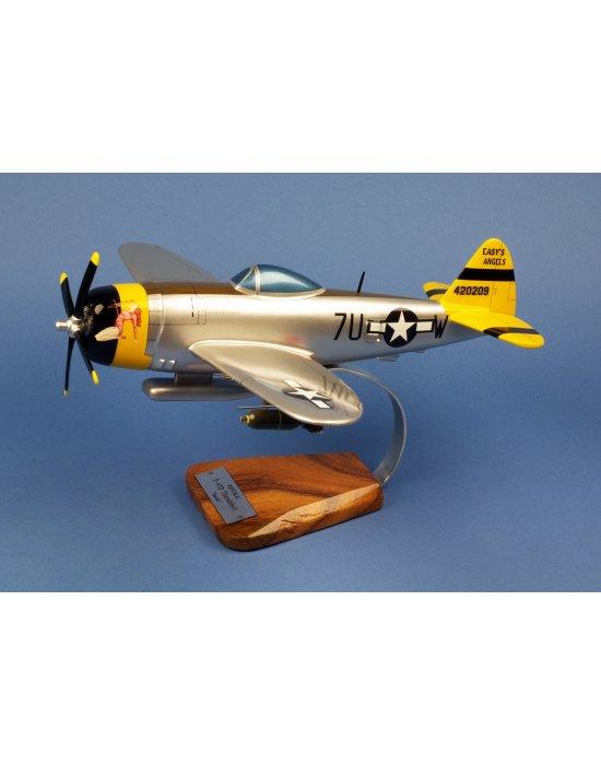 Maquette Avion P-47D Tunderbolt en bois