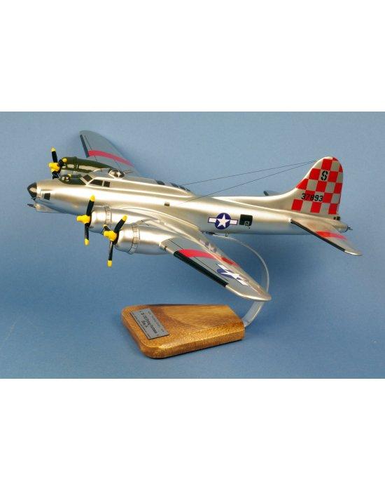 Maquette avionB-17G Flying Fortress 'Betty Jo' 550thBS/385thBG en bois