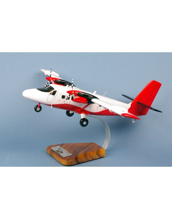 Maquette avion De Havilland DHC6-300 Twin Otter en bois