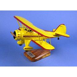 Maquette avion Waco YMF-5 en bois