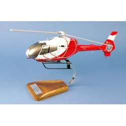 Maquette helicoptere EC120 Calliope Helidax F-HBKI en bois