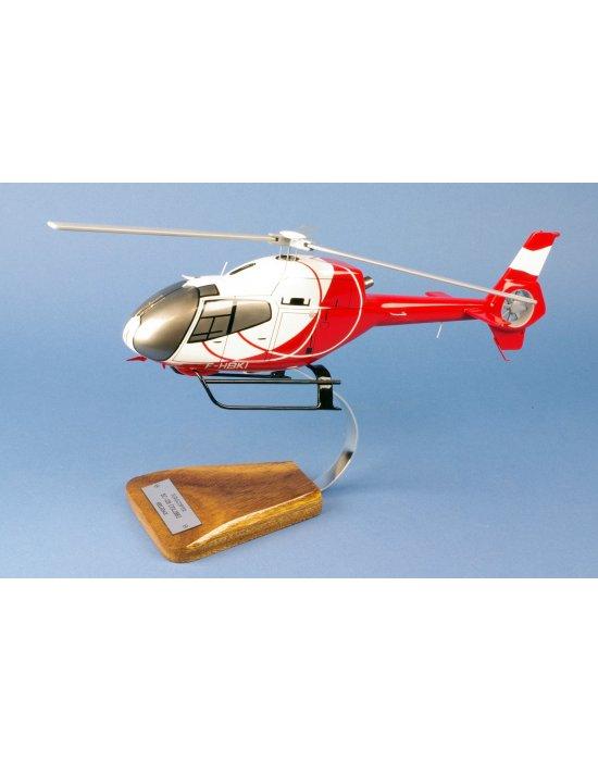 Maquette helicoptere EC120 Calliope Helidax F-HBKI en bois