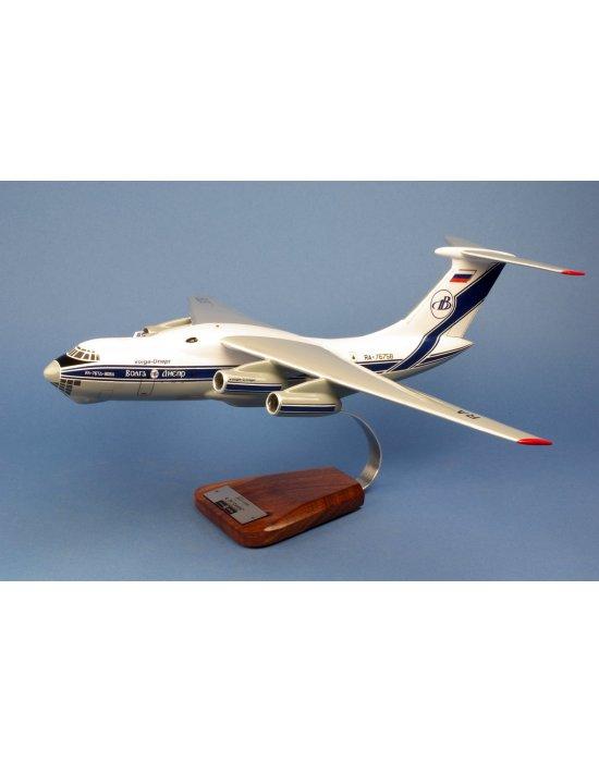 Maquette avion Ilyushin IL 76T Candid en bois