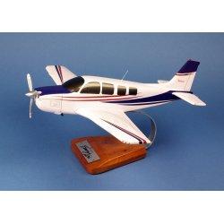Maquette avion Beech A 36 Bonanza en bois