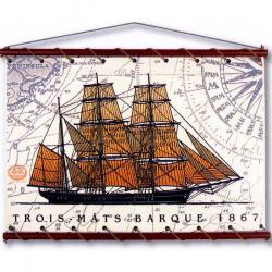 Trois-Mats Barque ocre