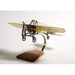 Maquette avion Bleriot XI traversée de la manche en bois