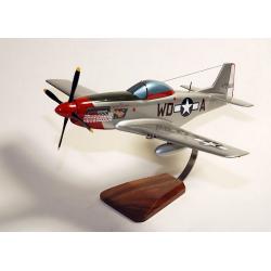"(Livraison fin Nov.2018)- maquette avion P-51D Mustang""Ridge Runner III"" Pierce Winningham ""Mac"" Kennon"